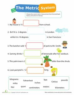 Printables Metric System Worksheets High School units of measurement worksheets and articles on pinterest mania 12 metric system