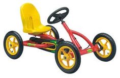 Go Kart - Again mine was not as posh as this! It had peddles that you pumped up and down rather than on a cog and chain