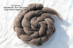 Hey, I found this really awesome Etsy listing at https://www.etsy.com/listing/183767438/pure-wool-tops-brown-spinning-felting