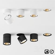 models: Spot light - Hoy by Artemide Interior Lighting, Home Lighting, Kitchen Lighting, Modern Lighting, Lighting Design, Downlights Kitchen, Ceiling Light Design, Ceiling Lights, Light Fittings