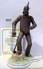 LENOX TIN MAN WIZARD OF OZ FIGURINE New in Box/COA Tin Man, Wizard Of Oz, Batman, Sculpture, Superhero, Box, Recipes, Snare Drum, Sculpting