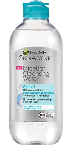 Free 2-day shipping on qualified orders over $35. Buy Garnier SkinActive Micellar Cleansing Water All-in-1 Cleanser & Waterproof Makeup Remover at Walmart.com
