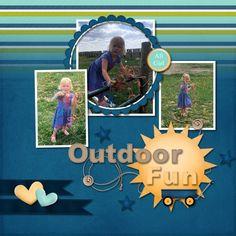 Outdoor Fun - Scrapbook.com