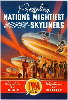 Kerne Erickson 'Super Skyliners' Poster.