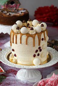 Leipoo sukkasillaan: Jouluinen täytekakku Something Sweet, Cake Decorating, Desserts, Food, Decoration, Tailgate Desserts, Decor, Deserts, Essen