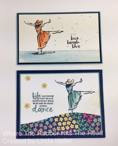 Stampin' Up asked me to do some projects for the Atlanta On Stage event using a new stamp set called Beautiful You, that will come out in January in the new Occasions catalog. It's a …