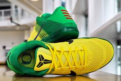 a641d7b62c2 The Nike Kobe 11 Oregon Ducks beautifully plays up UO's signature palette,  as vibrant yellow