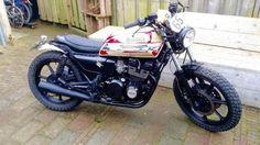 Kawasaki gt 550 by Oz vintage bikes.