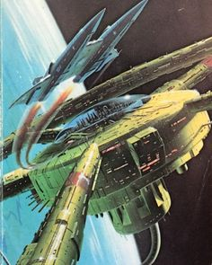 retroscifiart: Uncredited cover art but very likely to be Chris Moore for High Justice by Jerry Pournelle (1984 Orbit edition) #chrismoore #jerrypournelle