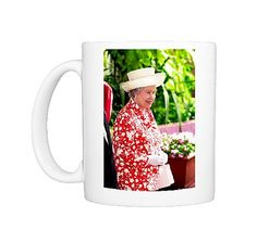 Queen Elizabeth II Photo Mug $40 - AAP One Print Store