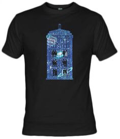 Camiseta Box of time and space, dr. who by Arinesart