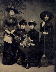 "Life in Moments on Twitter: ""Victorian Witches, 1875.… """