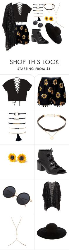 """""""Coachella"""" by rim-style ❤ liked on Polyvore featuring Jennifer Zeuner, 275 Central and Eugenia Kim"""