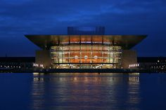 Copenhagen Opera House (in Danish usually called Operaen) - Copenhagen, Denmark  Henning Larsen