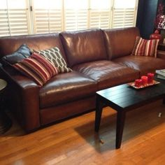 Furniture: Fantastic Pottery Barn Sofas With Throw Pillows And ...