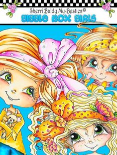 Sherri Baldy My Besties TM Halloween Coloring Book BOO Sherri Ann