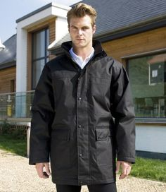 Result Work-Guard Platinum Managers Jacket - Work Jackets - Workwear - Top Embroidery, Embroidered Clothing, Embroidered Workwear