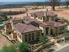 Tuscan: style home...LOVE it!