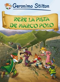 Categories: Rere la pista de Marco Polo - Llibre Fitxa - Geronimo Stilton