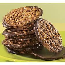 Florentine Lace Cookies