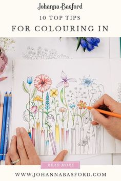 10 Core Principles of Colouring Books adult coloring books Coloring Book Art, Coloring Tips, Adult Coloring Pages, Colouring Pages, Colouring For Adults, Mandala Coloring, Coloring Sheets, Colored Pencil Tutorial, Colored Pencil Techniques