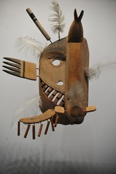 inuit mask - ART!