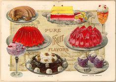 Jello recipes, 1910s