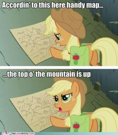 Even My Little Pony uses a map!  heehee
