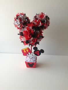 Cute centerpiece for Mickey Mouse Clubhouse theme party