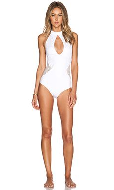 978cf11e19 Lisa Maree Plans For the Future Swimsuit in White Swimsuit Heaven