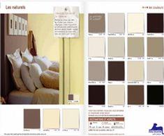 Γγρ│Colors in Feng-shui - Idées d'association de couleurs dans une chambre située dans le secteur Terre (Sud-Ouest/Nord-Est)