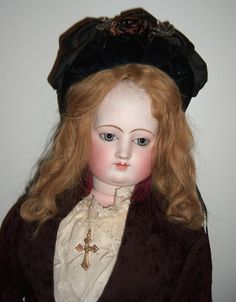 """HUGE Rare Exhibition French Fashion Doll 32"""" Layaway"""
