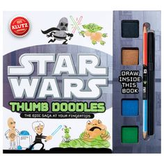 Klutz Star Wars Thumb Doodle - Doodle with the Force...transform your fingerprints into characters and scenes from a galaxy far far away!