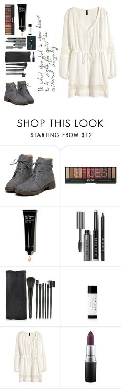 """Do what you feel in your heart."" by desireforart ❤ liked on Polyvore featuring Bobbi Brown Cosmetics, H&M, MAC Cosmetics, women's clothing, women's fashion, women, female, woman, misses and juniors"