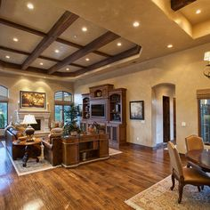 unique beams and lighting