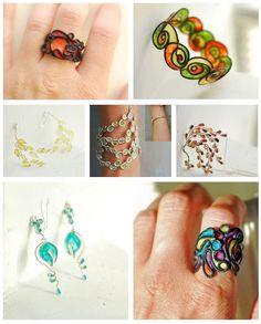 Artisan, Wearable Art - Paper Jewelry