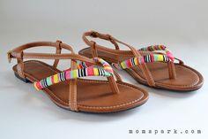 Shoe Makeover: Friendship Gladiator Sandals Tutorial