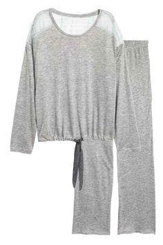 Пижама, топ и брюки