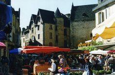 Marché de Sarlat - Sarlat la caneda (24 Dordogne)