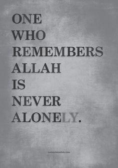 Who remembers Allah