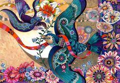 Яркие творения художника-иллюстратора Дэвида Галчутта - Ярмарка Мастеров - ручная работа, handmade