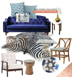 #OneRoomChallenge: Decor Preview on Thou Swell