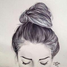 Perfect art hair style))) So girly####
