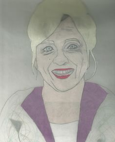 Connie Smith Drawing done with prisma color Colored pencils and charcoal pencil