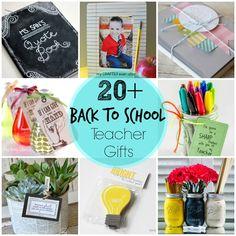 20+ back to school teacher gifts