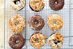 Saras Cupcakery: Süß und Salzig {Salted Caramel Chocolate Donuts}