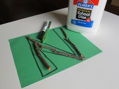 letter n activity - Lesson idea to get those youngin's outside!