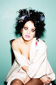 Lily Allen - I freaking LOOOOVE her! Her songwriting is so funny and clever. I feel bad for the guy who pissed her off, lol!