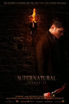 Jensen Ackles as Dean Winchester Supernatural Fans, Supernatural Poster, Supernatural Fan Art, Supernatural Wallpaper, Supernatural Seasons, Castiel, Supernatural Episodes, Dean Winchester, Winchester Brothers