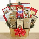 Wonderful holiday gift basket to send to a business client, your in-laws or to make a good impression